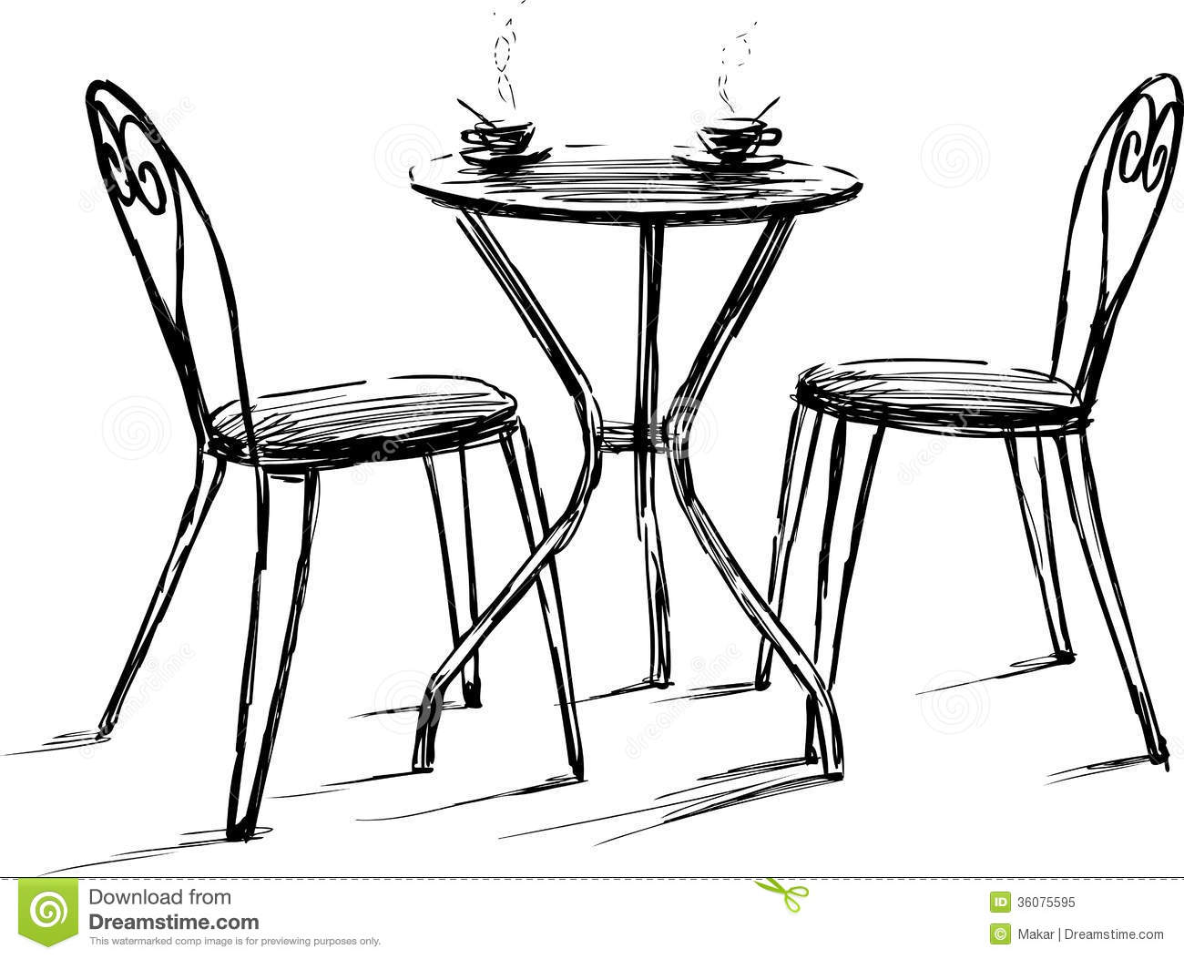 Furniture clipart beautifull Cafe  Cafe Barstools And