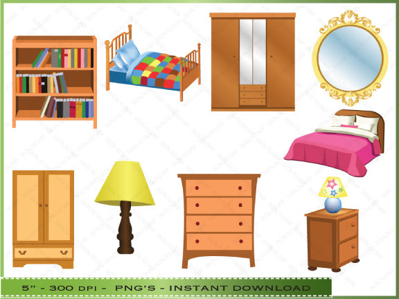 Desk clipart bedroom furniture Clipart Free bedroom%20clipart Clipart Images