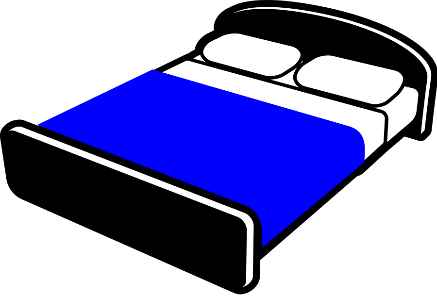 Bed clipart badroom Clipartion #7896 Clipart Clipart Bed