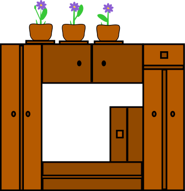 Bedroom clipart cupboard Of Clipart Bedroom Free Public