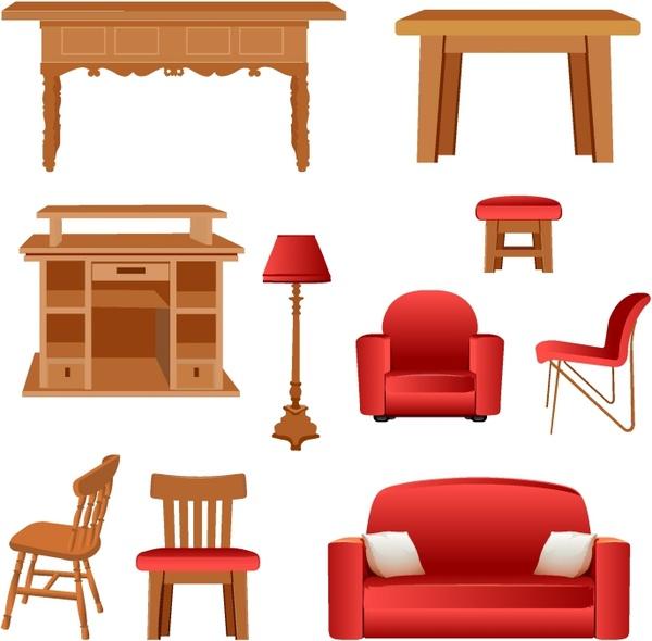 Furniture clipart bedroom furniture Furniture vector) vector Free Furniture
