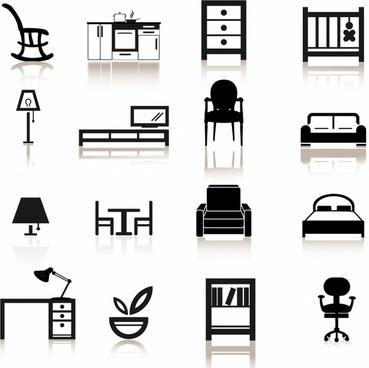 Furniture clipart bedroom furniture Bedroom Free free (254