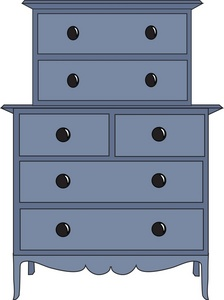 Furniture clipart bedroom furniture Of A Image: of Furniture
