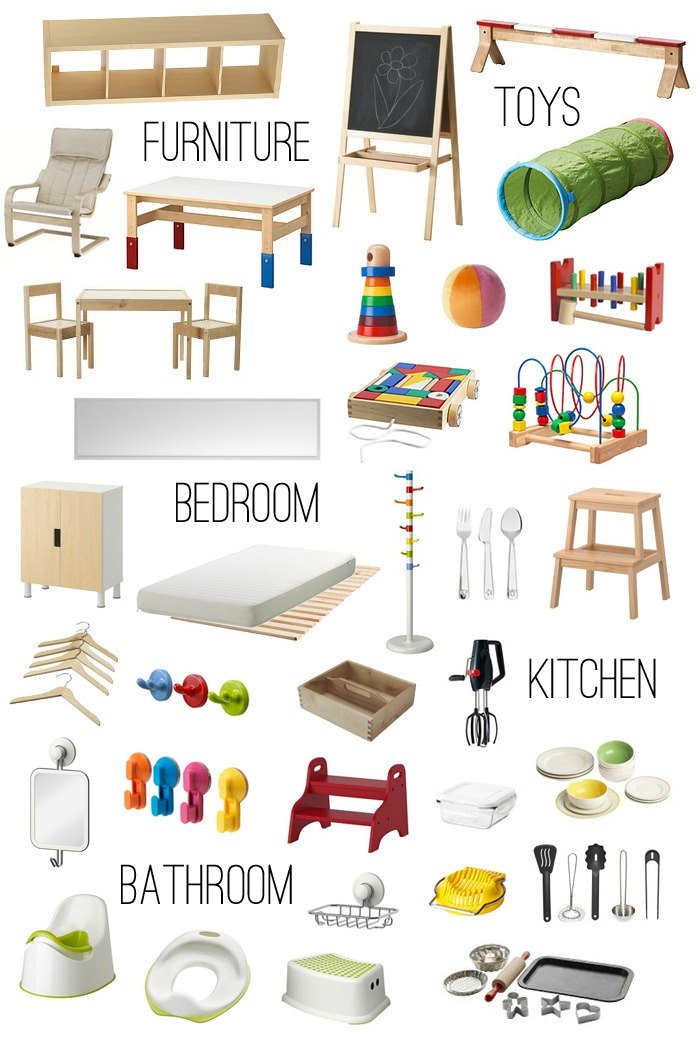 Marker clipart montessori We Ikea how montessori: Furniture