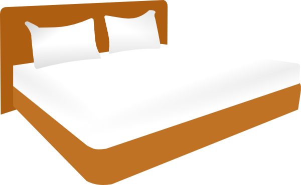 Bed clipart big bed This com Size vector