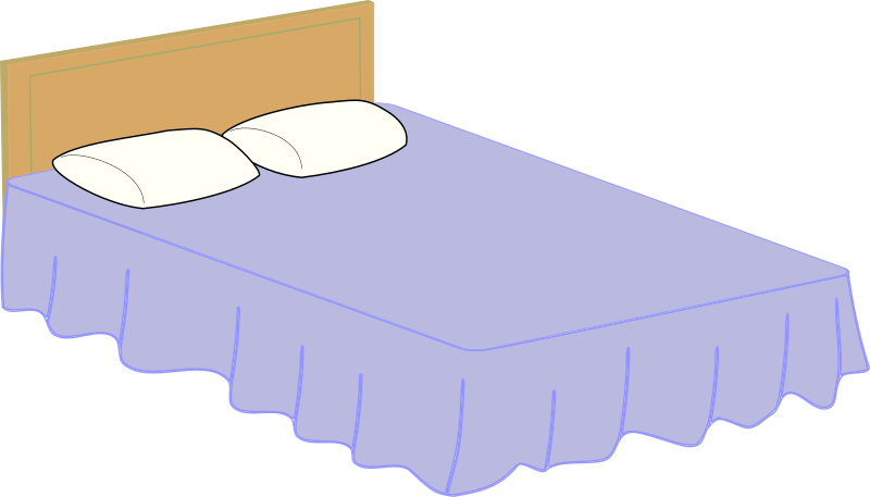 Bed clipart big bed IMAGE Bed MEDIUM (PNG) Clipart