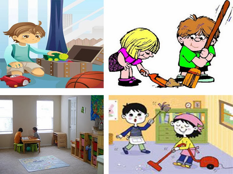 Library clipart childrens room Art Clean Cliparts Messy Decorative