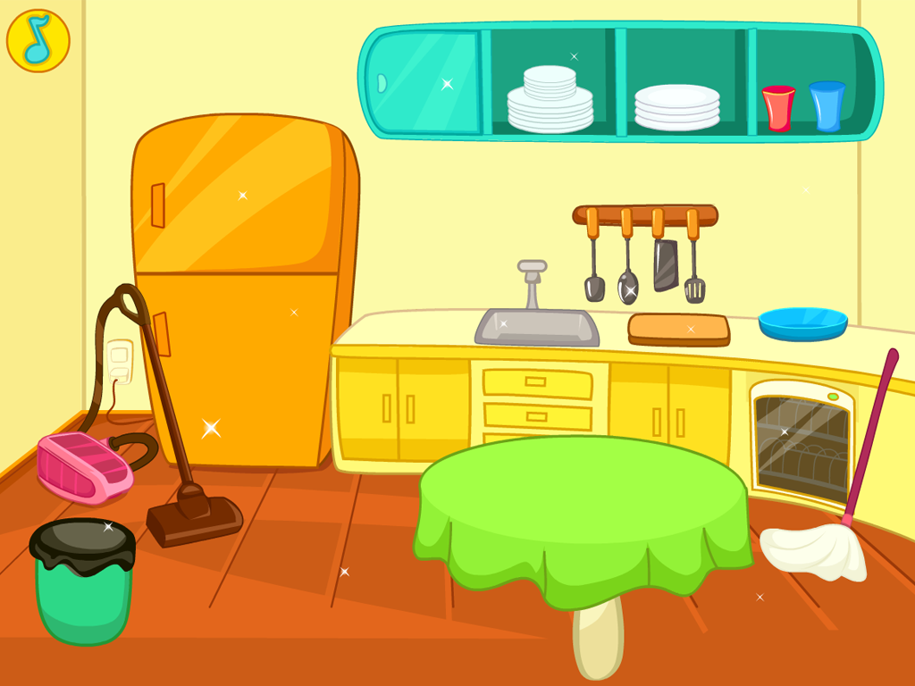 Interior Designs clipart my house Furniture: Home Cleaning Cliparts Kitchen