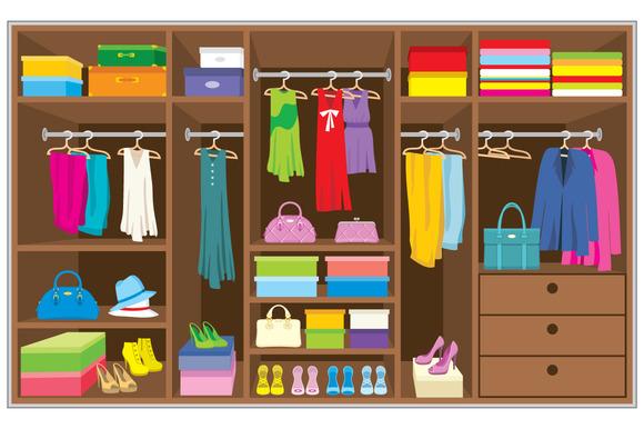 Furniture clipart closet Art Closet Clipart clipart Door