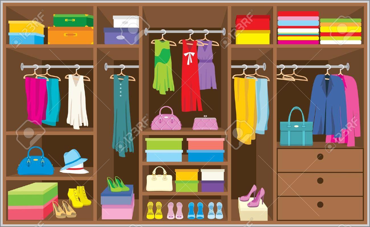Furniture clipart closet Clipart Closet  Closet Art