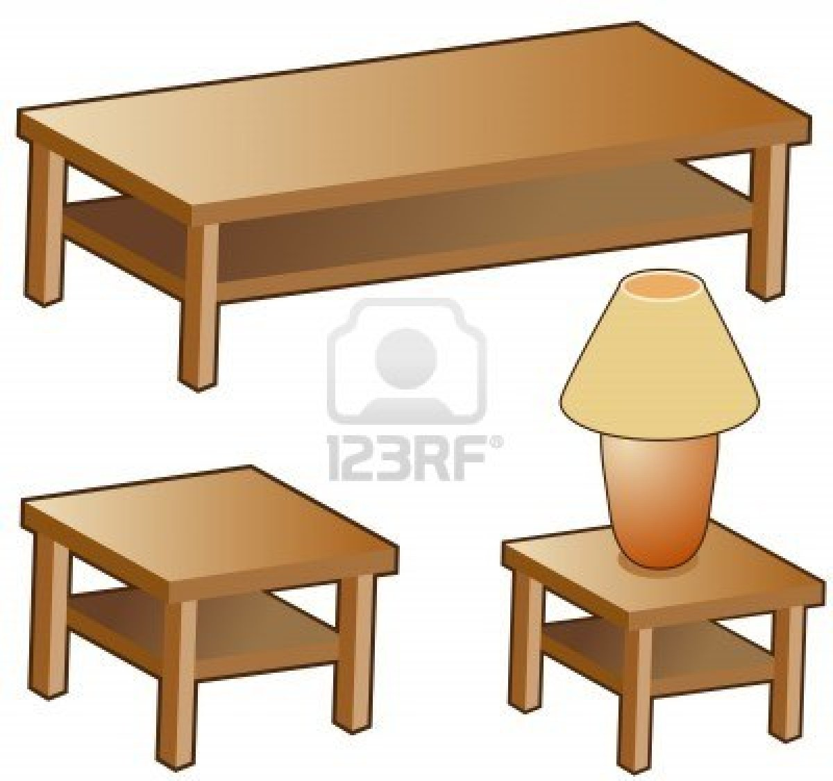 Furniture clipart coffee table Free Clipart Panda Table Images