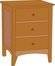 Furniture clipart cupboard Table Clipart Large clip STUFF