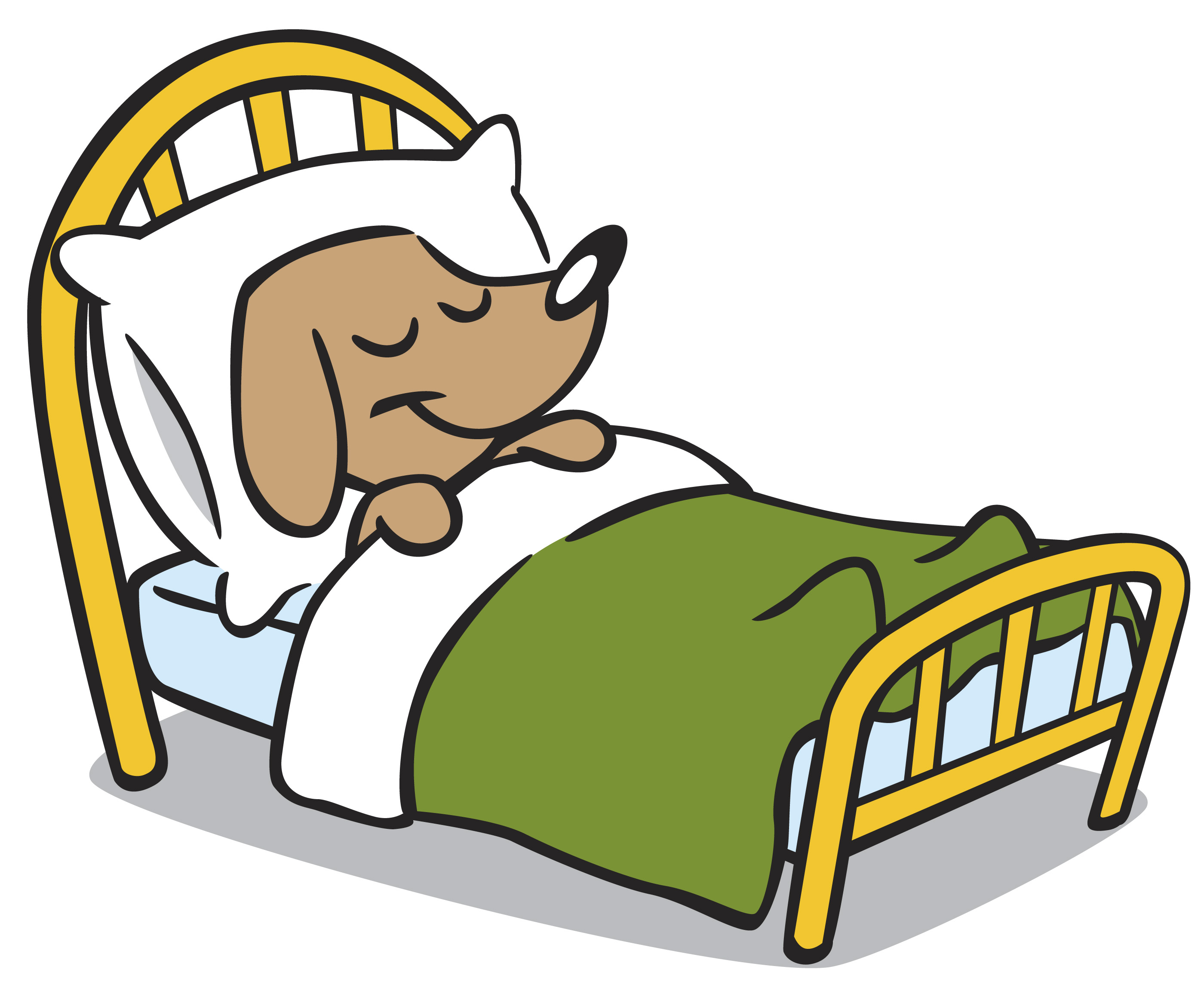 Blanket clipart cute bed Clipart Clipart Images Art Bed