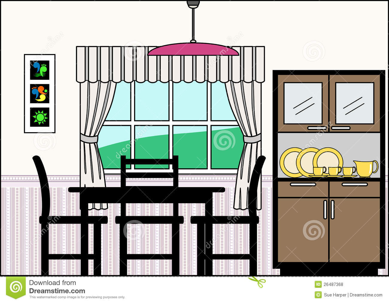 Kitchen clipart kitchen table  And Latest Dining Table