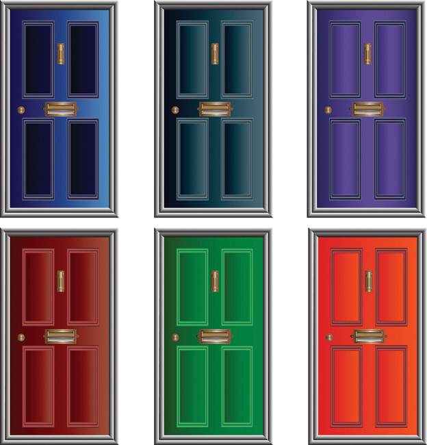 Doorway clipart front door #11