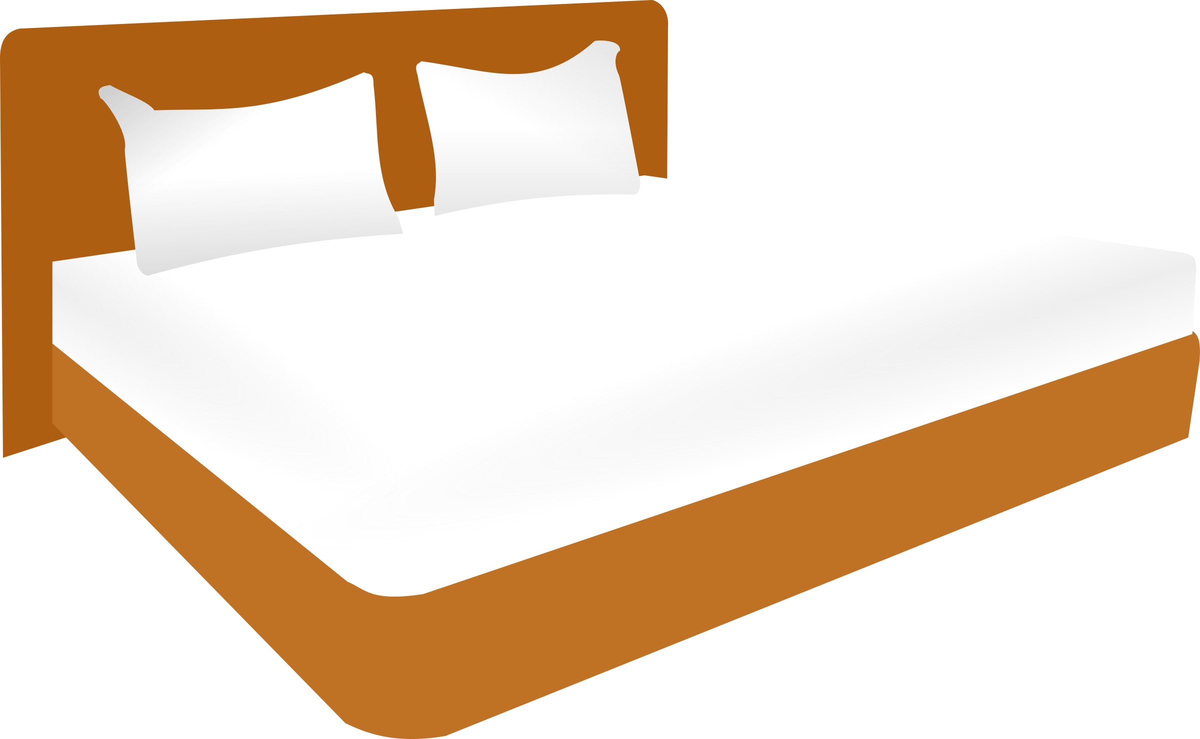 Furniture clipart double bed Bed Double Clipart Double bed