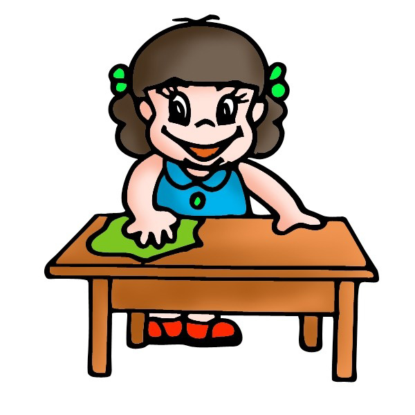 Child clipart cleaning house Collection art clipart clipart clip