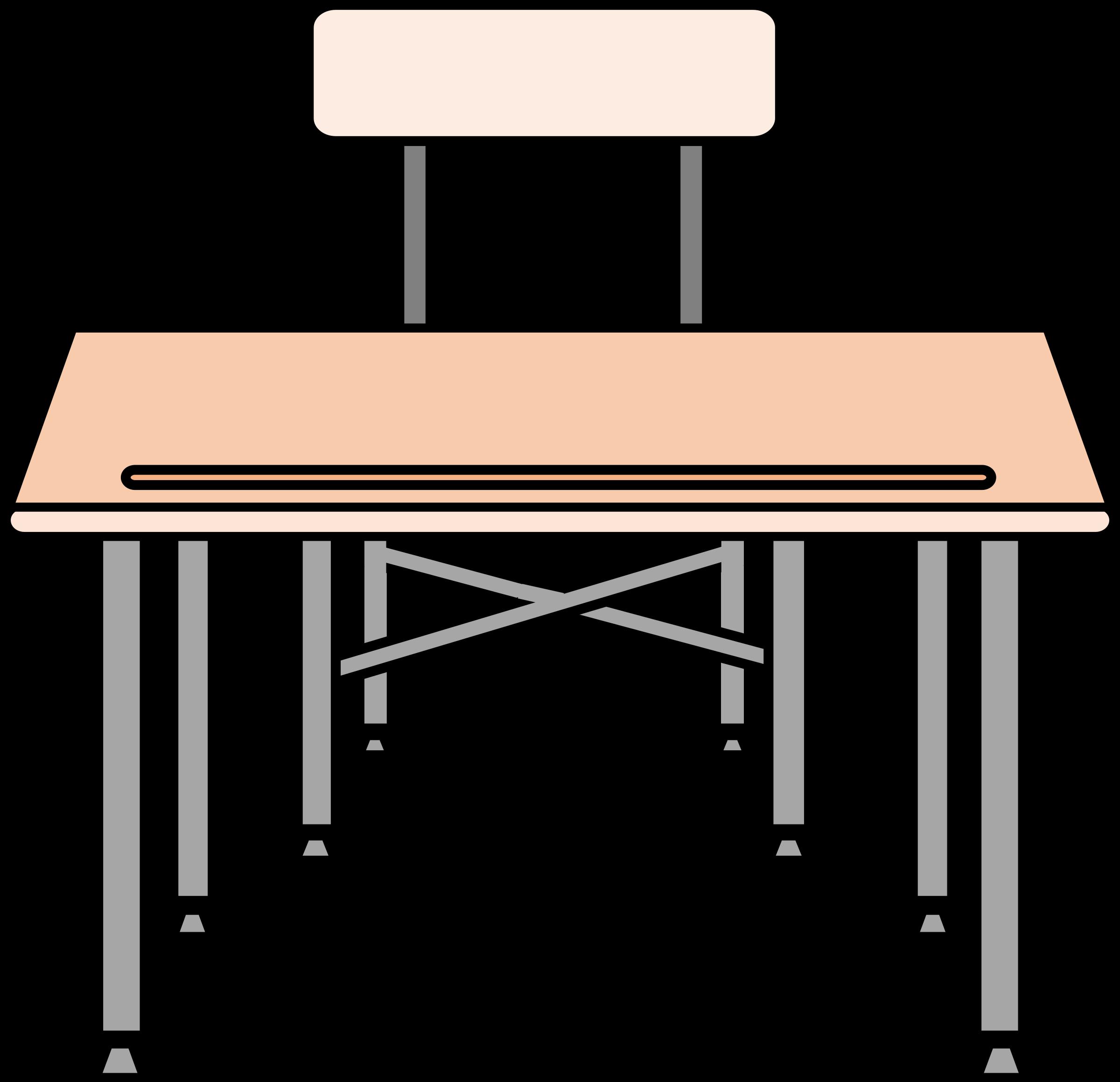 Desk clipart transparent Desk desk An empty empty