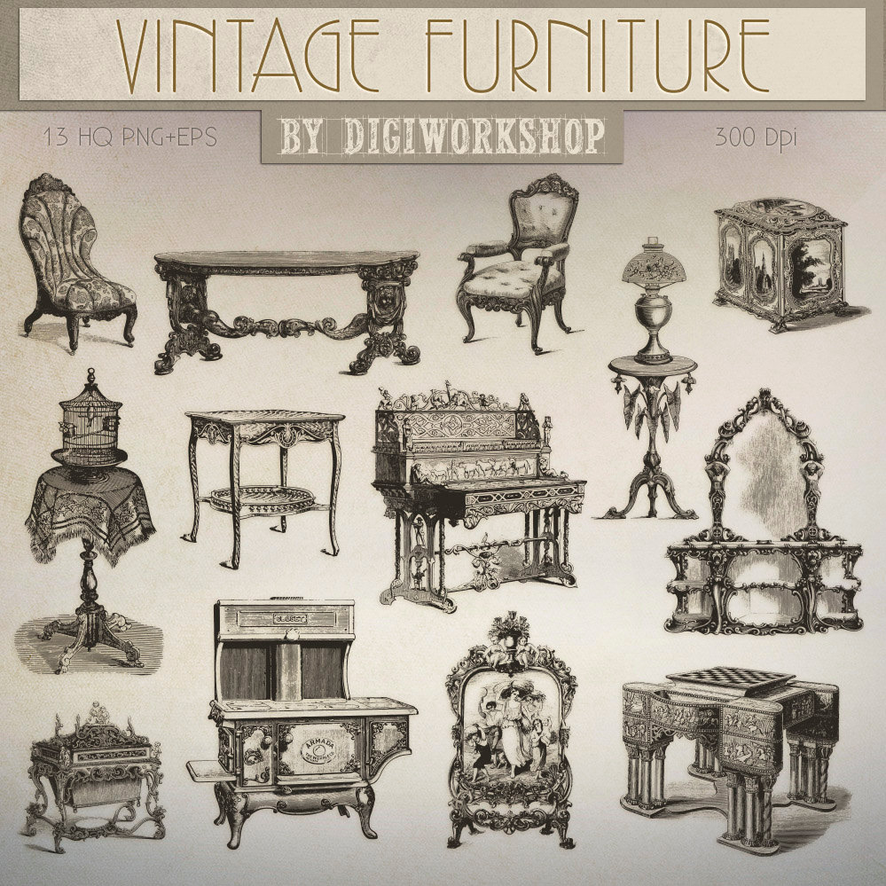 Furniture clipart furniture store Images  Clip contains Art