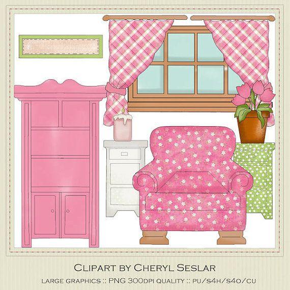 Windows clipart house furniture 48 clip Pinterest on clip