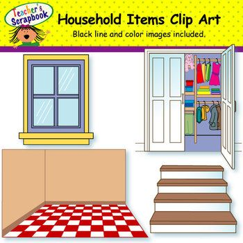 Furniture clipart household item Best 209 about Items Pinterest