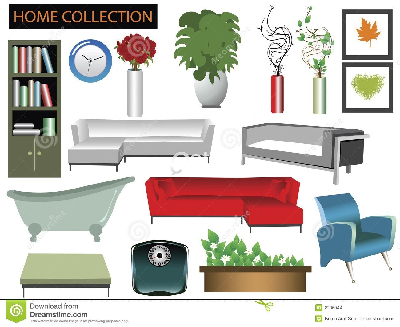 Furniture clipart household material (@ title; Living ALL for