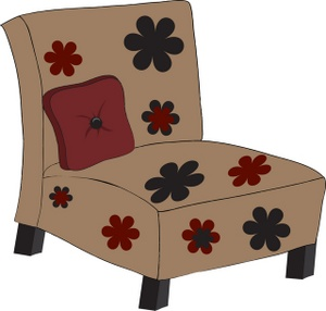 Furniture clipart illustration Savoronmorehead a Art chair with