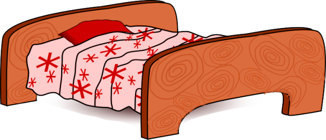 Bed clipart christmas Clipart 11 Furniture of Free