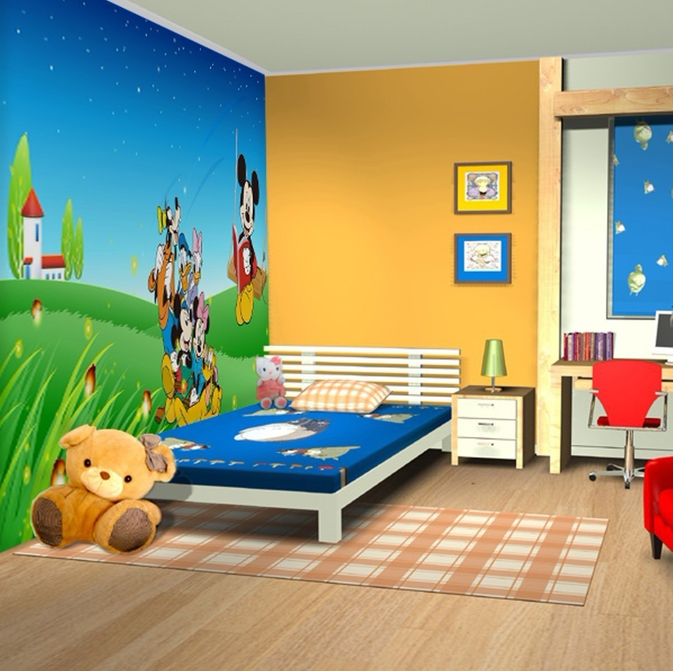 Interior Designs clipart childrens bedroom Wall Inspired Funny Decor Funny