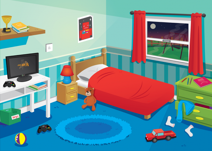 Library clipart childrens room  Sets For Bedrooms Bedroom