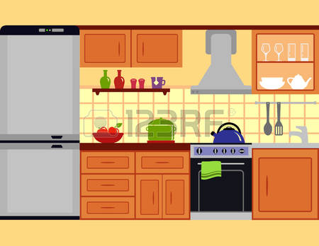 Furniture clipart kitchen room Style Room Magnificent Furniture jpgver6