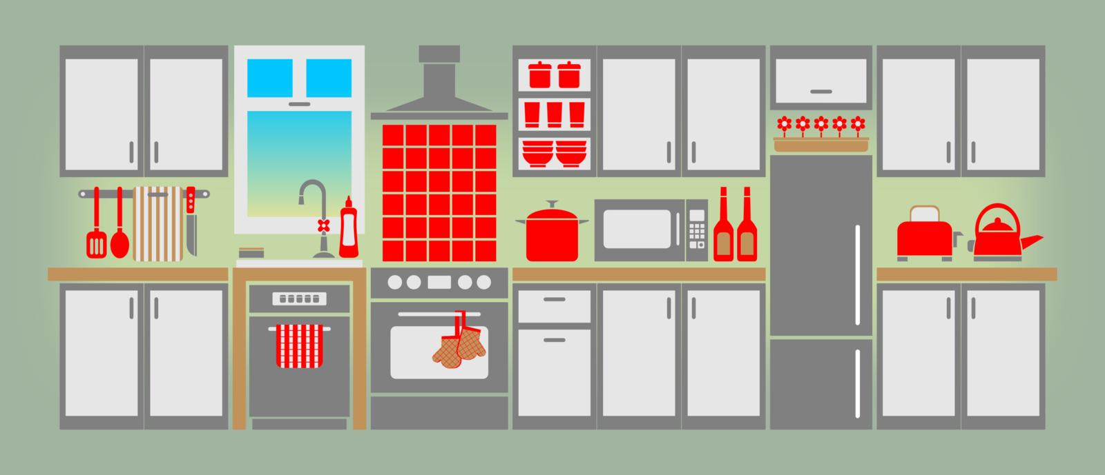 Kitchen clipart kitchen room Kid 2 free images art