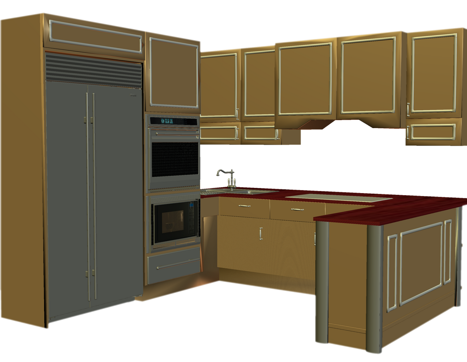 Furniture clipart kitchen room Cliparting Clip 2 com clipart