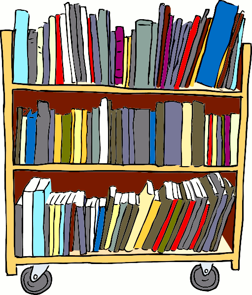 Furniture clipart library shelf Library Free com Domain School