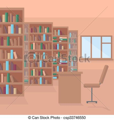 Furniture clipart library shelf Of library on Clip Art