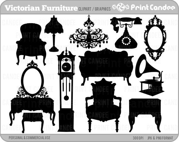 Furniture clipart line art Furniture Pink Clipart Fish Clipart