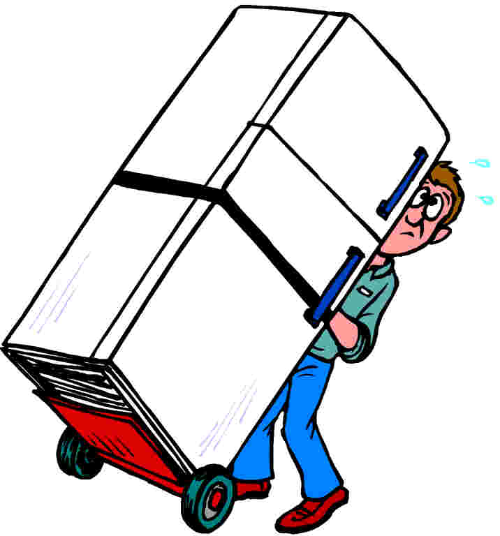 Moving clipart job #15