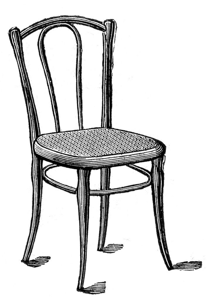 Furniture clipart old chair 46 The Fairy Graphics Pinterest