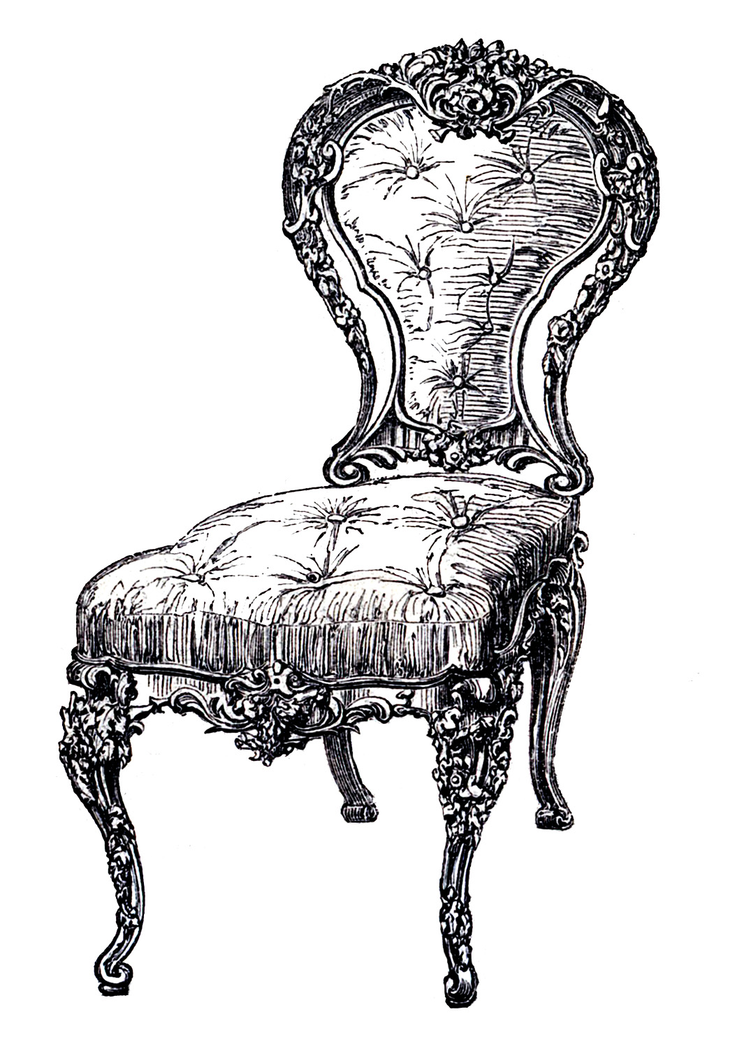 Furniture clipart old chair Chair The Clip Art Frenchy