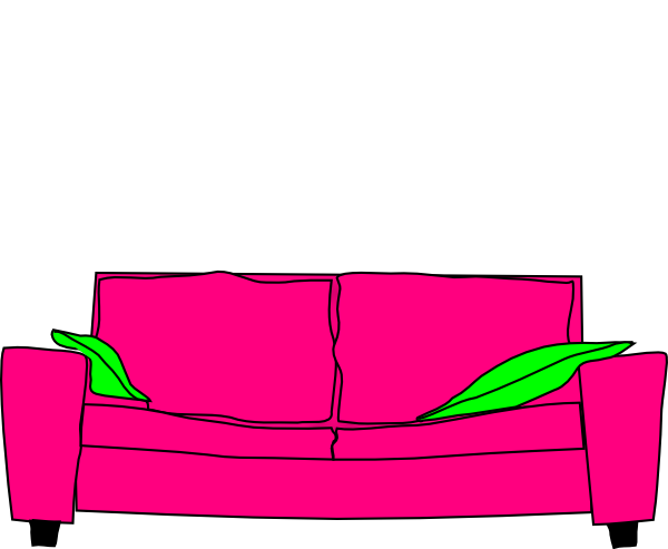 Furniture clipart pillow Couch With Download Art art
