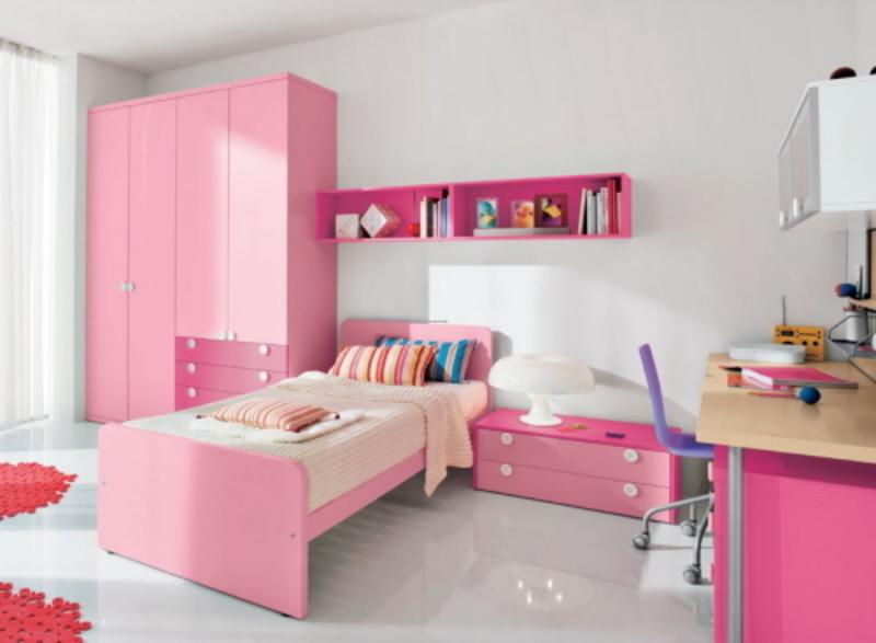 Furniture clipart pink bedroom Bedroom Decoration Girls Daughter Girls