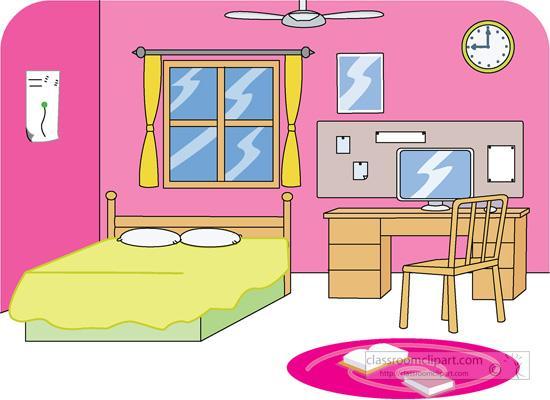 Furniture clipart pink bedroom Media post > art Clipart