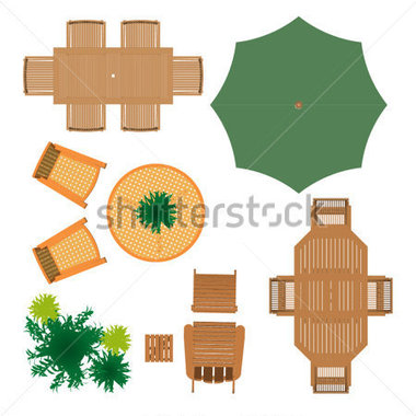 Terrace clipart patio furniture Plan and this Landscape Architecture: