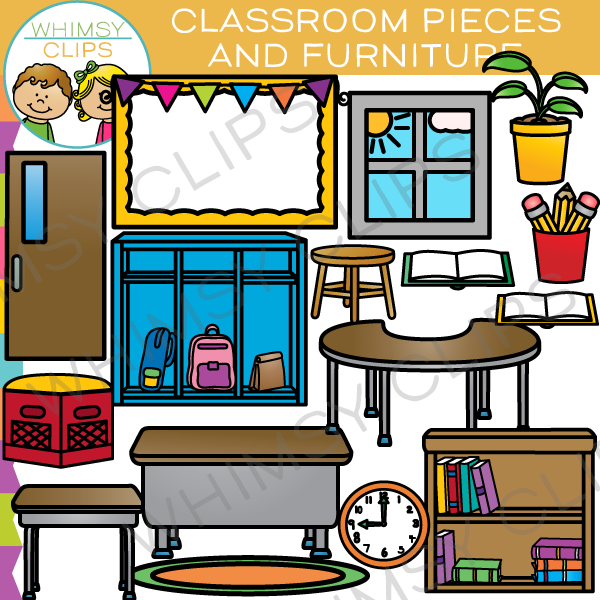 Furniture clipart school furniture Pieces and Clip & Images