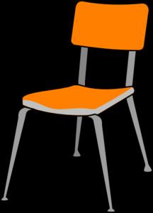 Furniture clipart school furniture Chair at com Clker Clip
