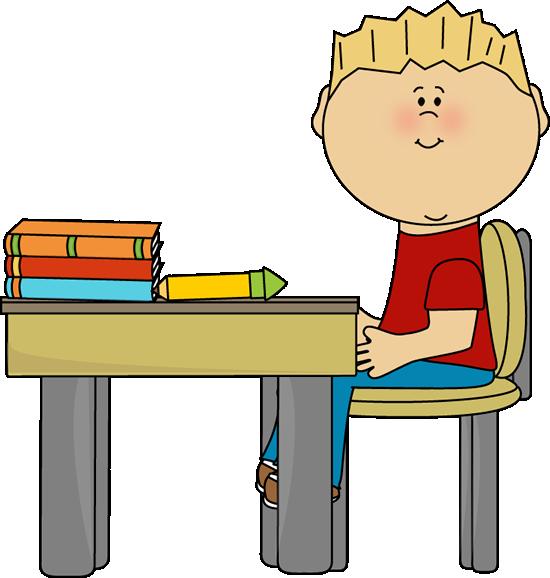 Desk clipart elementary school classroom Clip at Little Images School