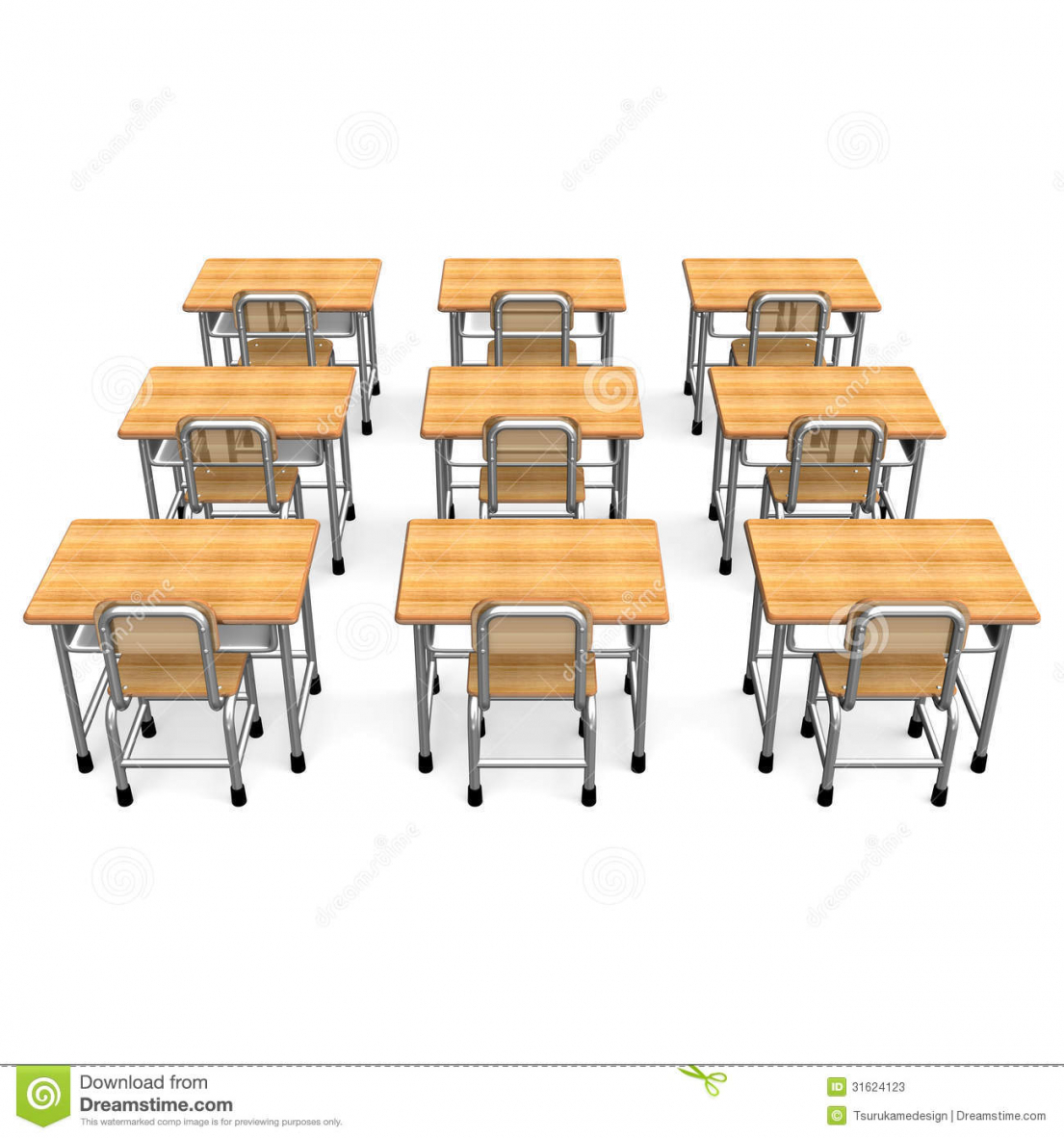 Furniture clipart school table  Chair School Back Desk