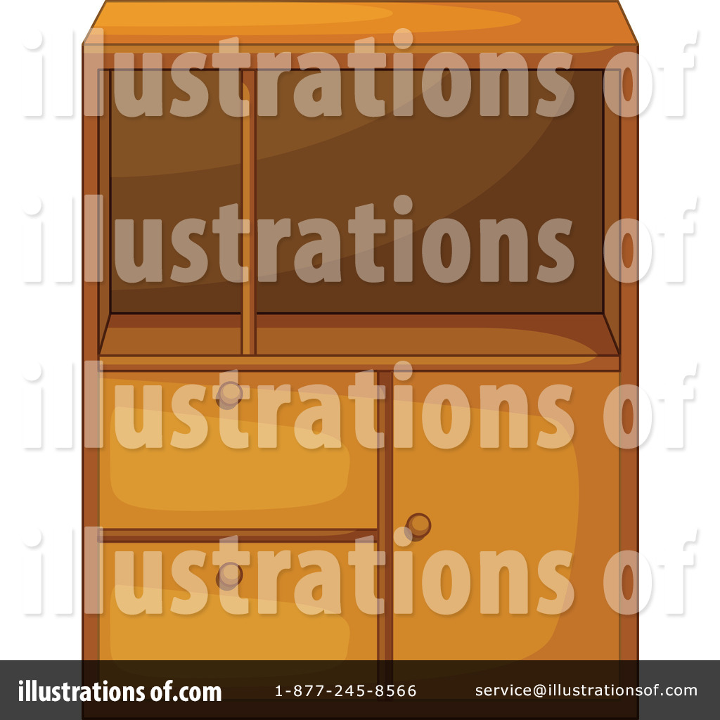 Furniture clipart shelf Free by Illustration Cabinet #1119044