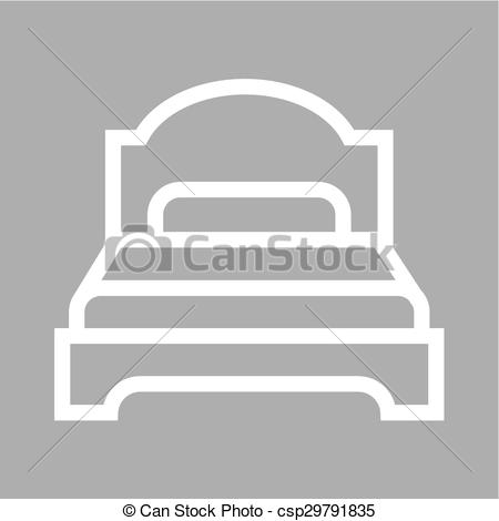 Furniture clipart single bed Can Bed of icon single