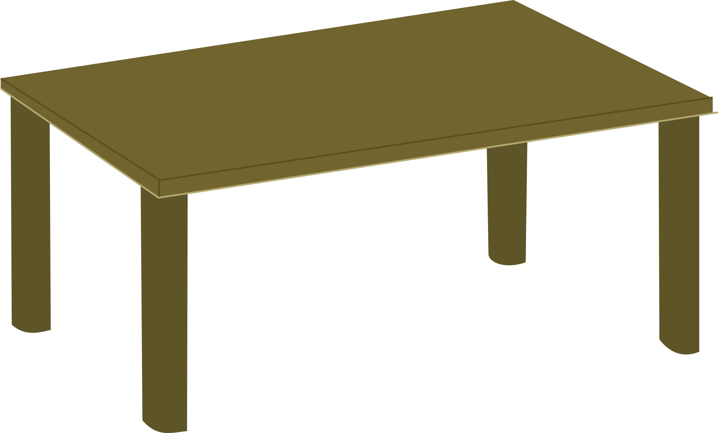 Furniture clipart small table Table Clipart Wooden table Wooden